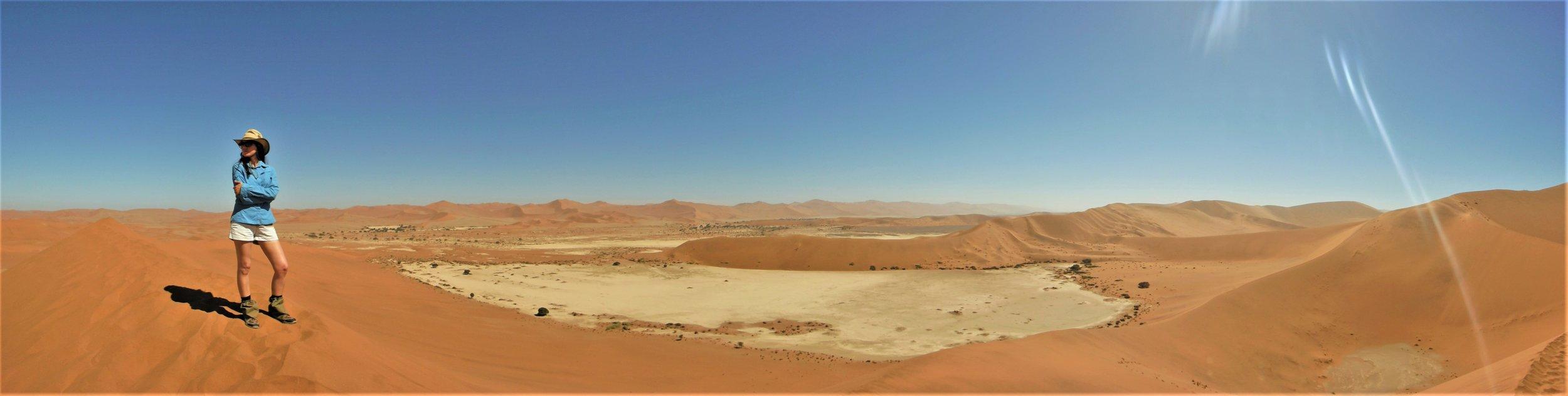 """2016 - Hiking """"Big Daddy"""" dune in Sossusvlei, Namibia"""