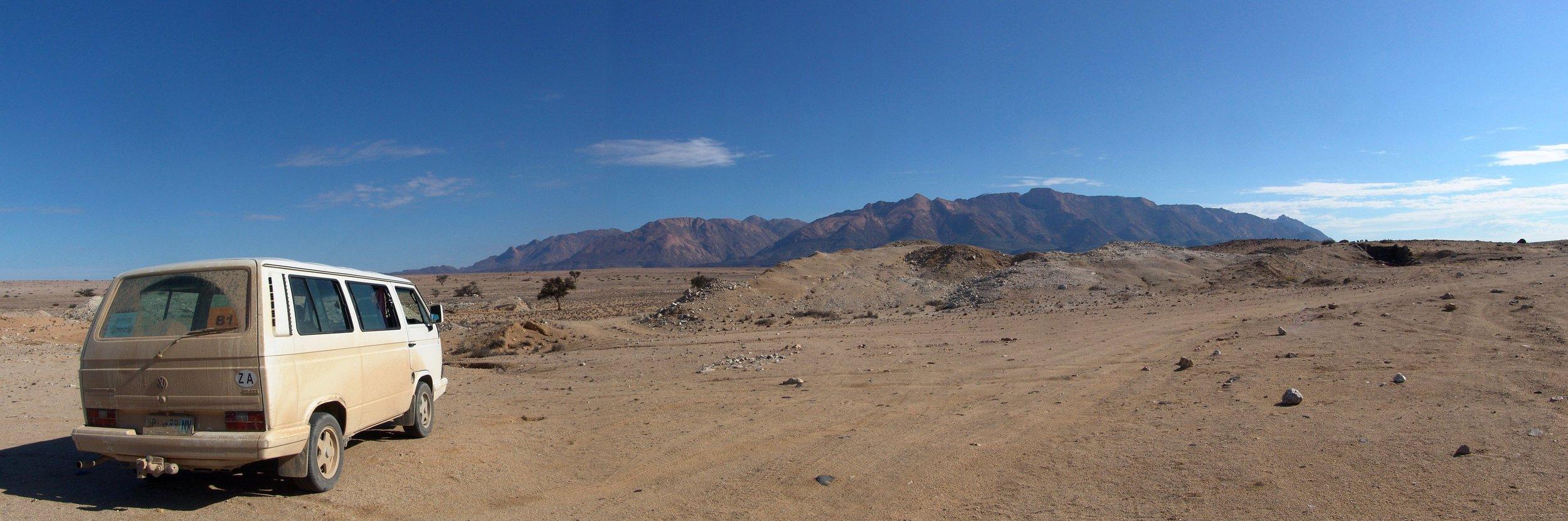 2008 - Road-trip to Brandberg Mountain near Uis, Namibia
