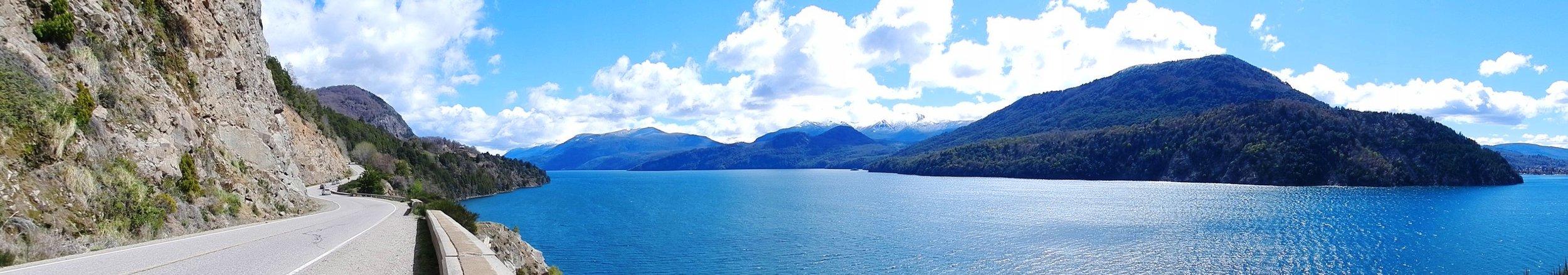2012 - Lakeside road, San Martin de Los Andes, Argentina