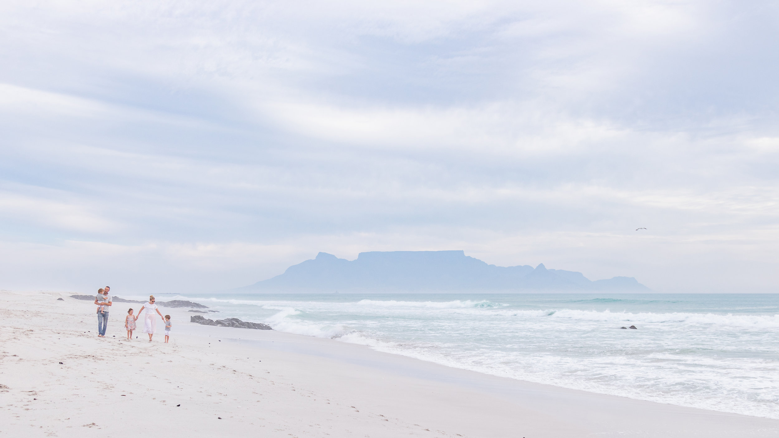 The majestic Table Mountain as our backdrop - we really couldn't have asked for much better.
