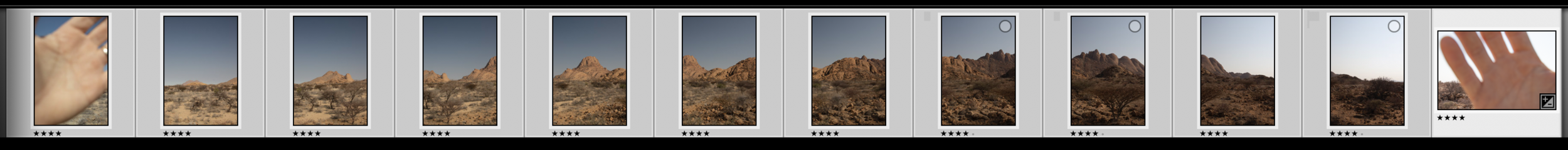 """""""Book-ending"""" your sequences can be especially useful when it comes to editing and stitching your images later on."""