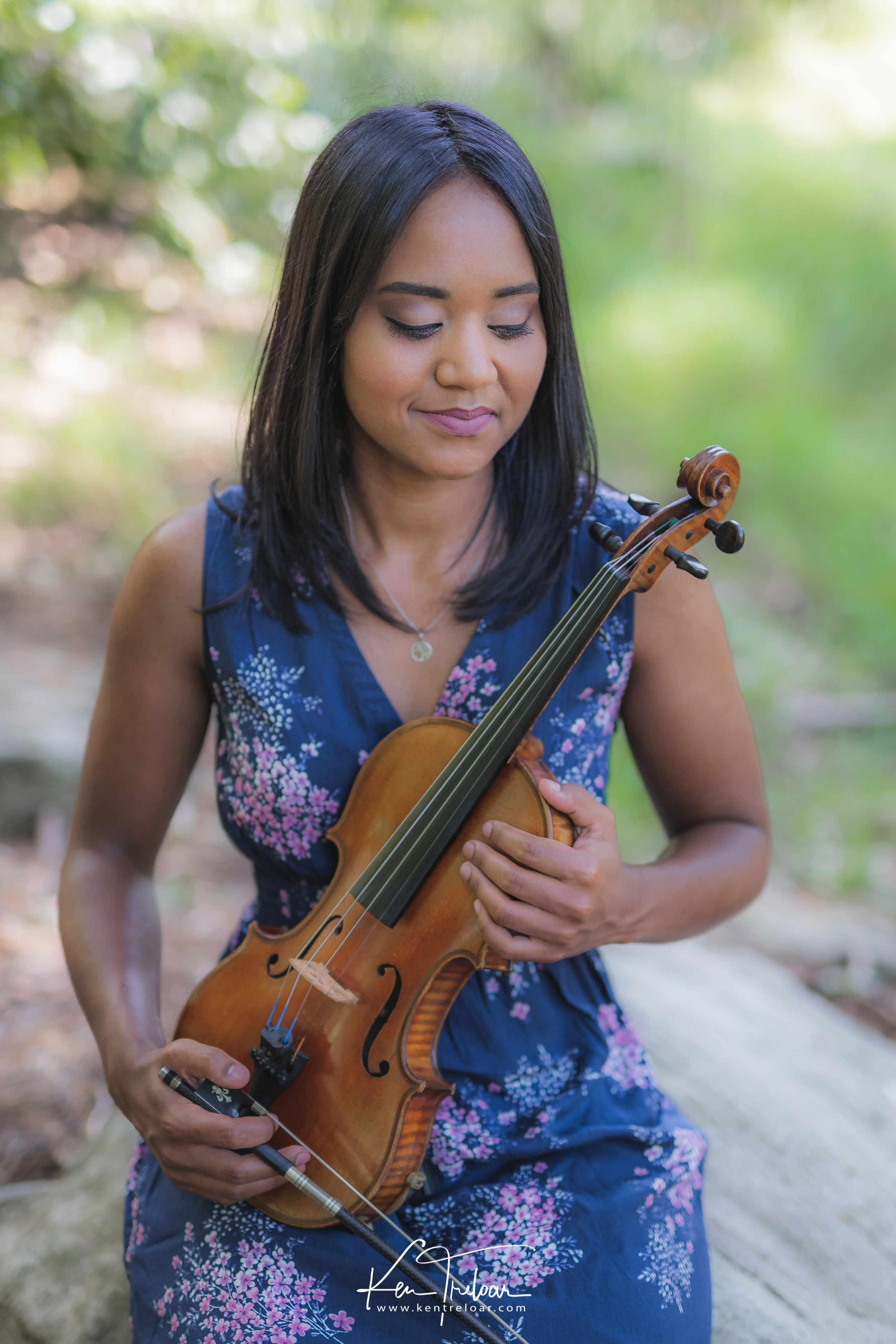 Ken Treloar Photography - Dec 2018 - Violin Woodland Forest Natural Light Portrait Photography - Cape Town-11.jpg