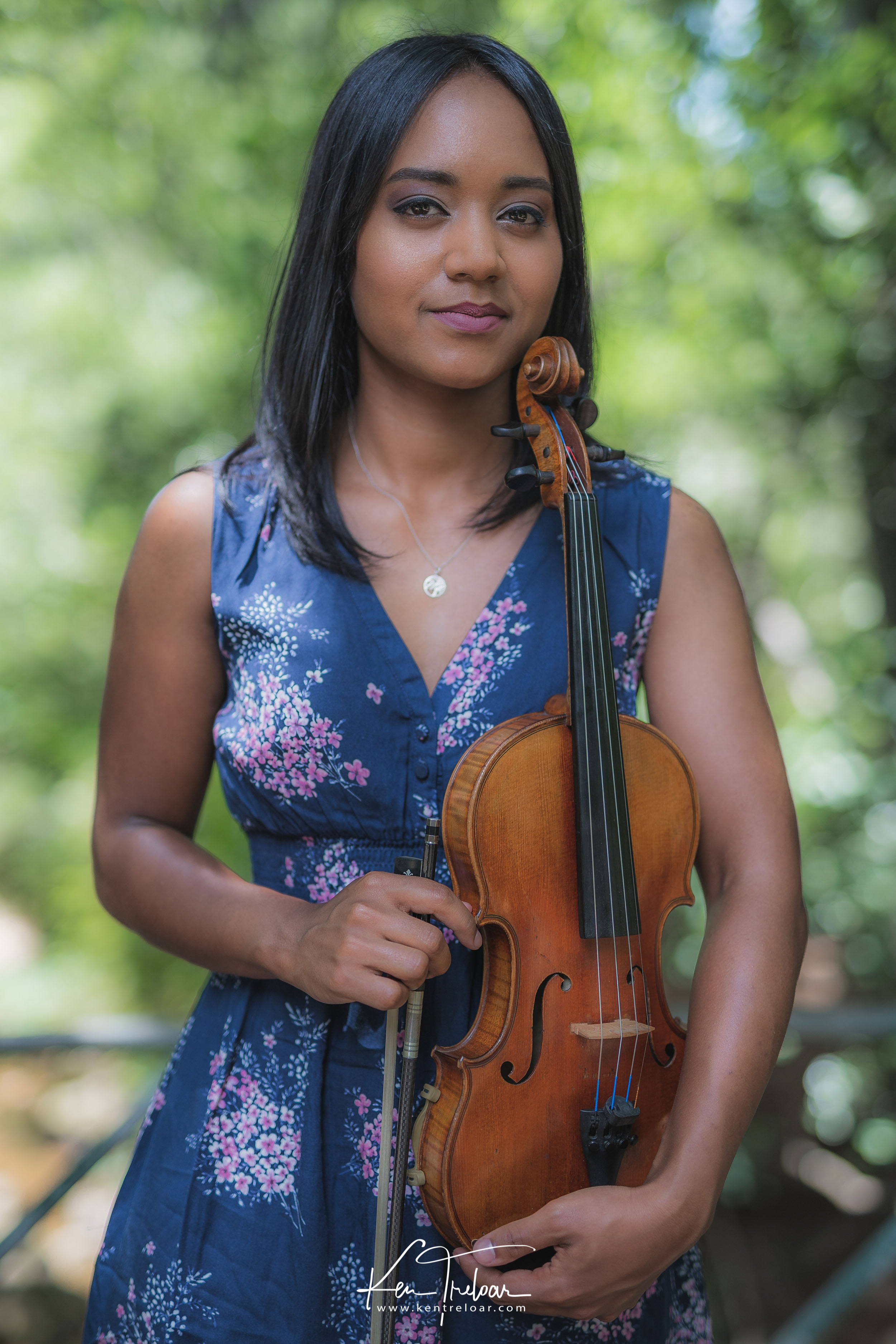 Ken Treloar Photography - Dec 2018 - Violin Woodland Forest Natural Light Portrait Photography - Cape Town-15.jpg