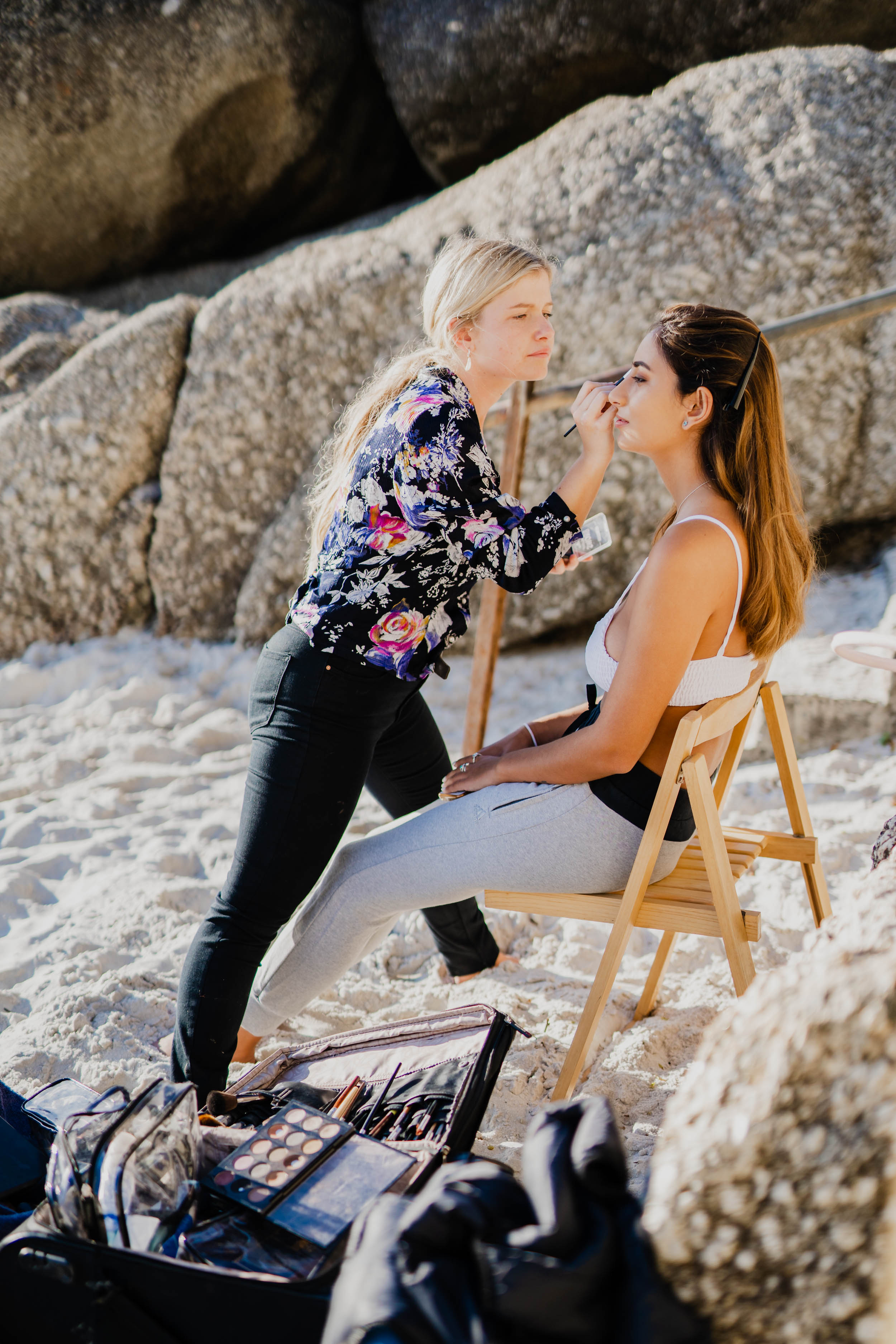 Cape Town Clifton Beach Portrait session by Cape Image Co. Behind-The-Scenes_Blend-by-Paige-MUA.jpg