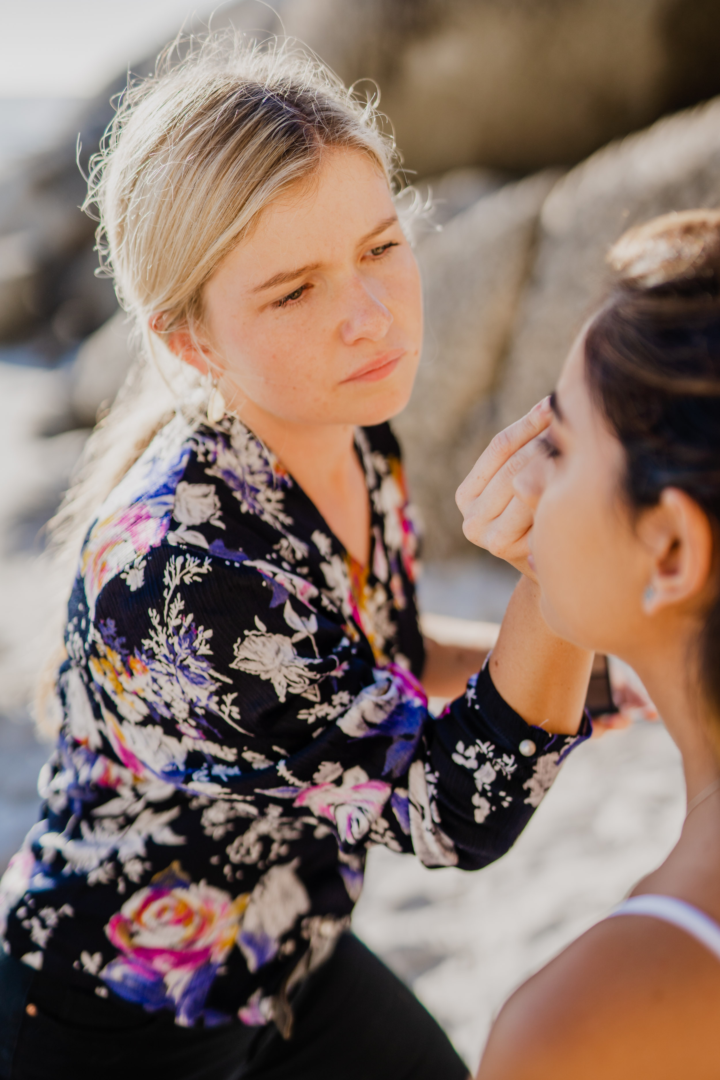 Cape Town Clifton Beach Portrait session by Cape Image Co. Behind-The-Scenes_Blend-by-Paige-MUA-4.jpg