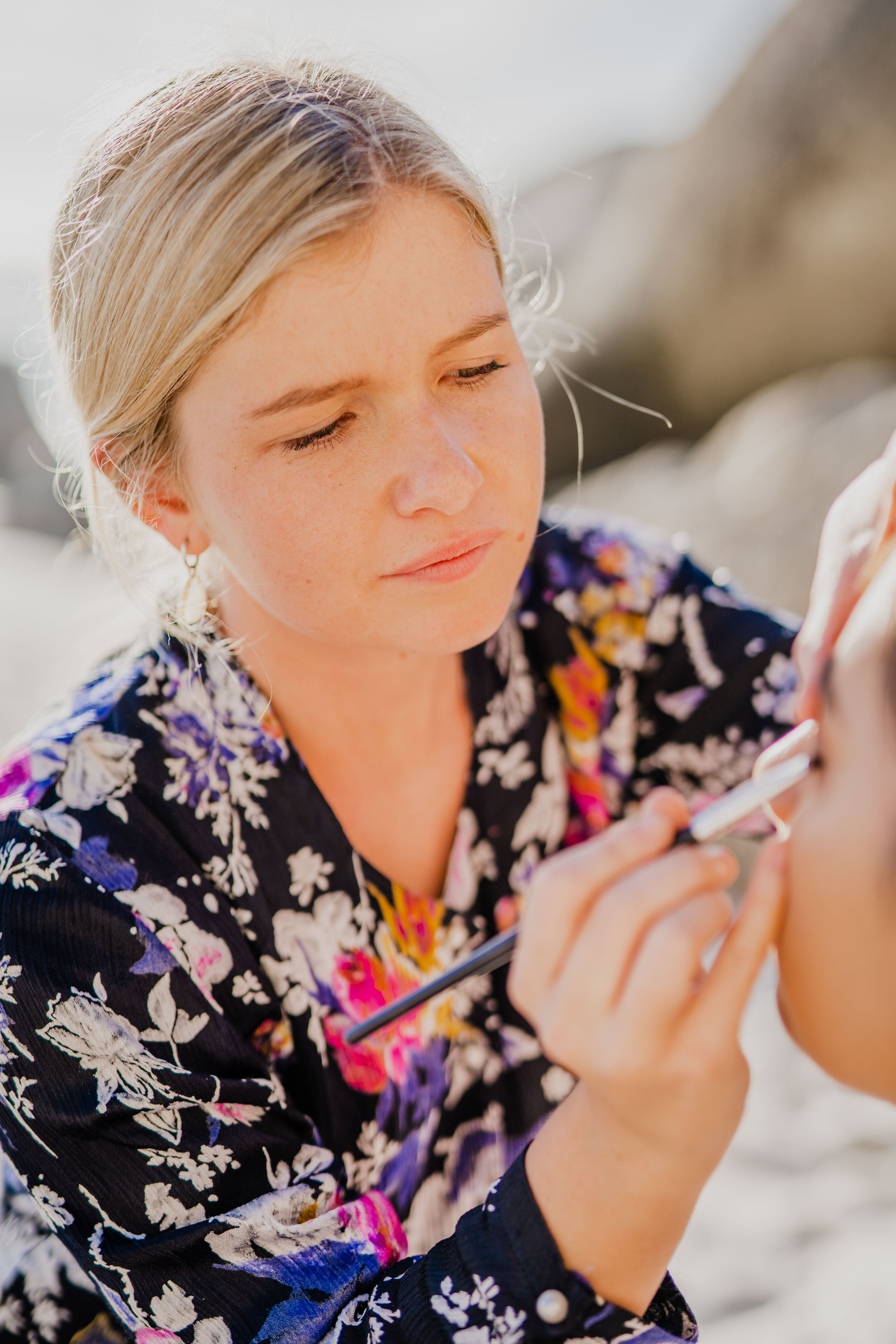 Cape Town Clifton Beach Portrait session by Cape Image Co. Behind-The-Scenes_Blend-by-Paige-MUA-3.jpg
