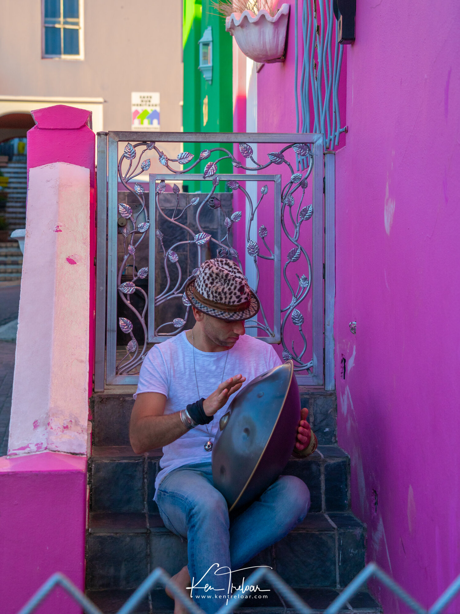 Marco Selvaggio Hang Musical Instrument - Bo-Kaap, Cape Town South Africa - Image by Ken Treloar Photography 2019-5.jpg