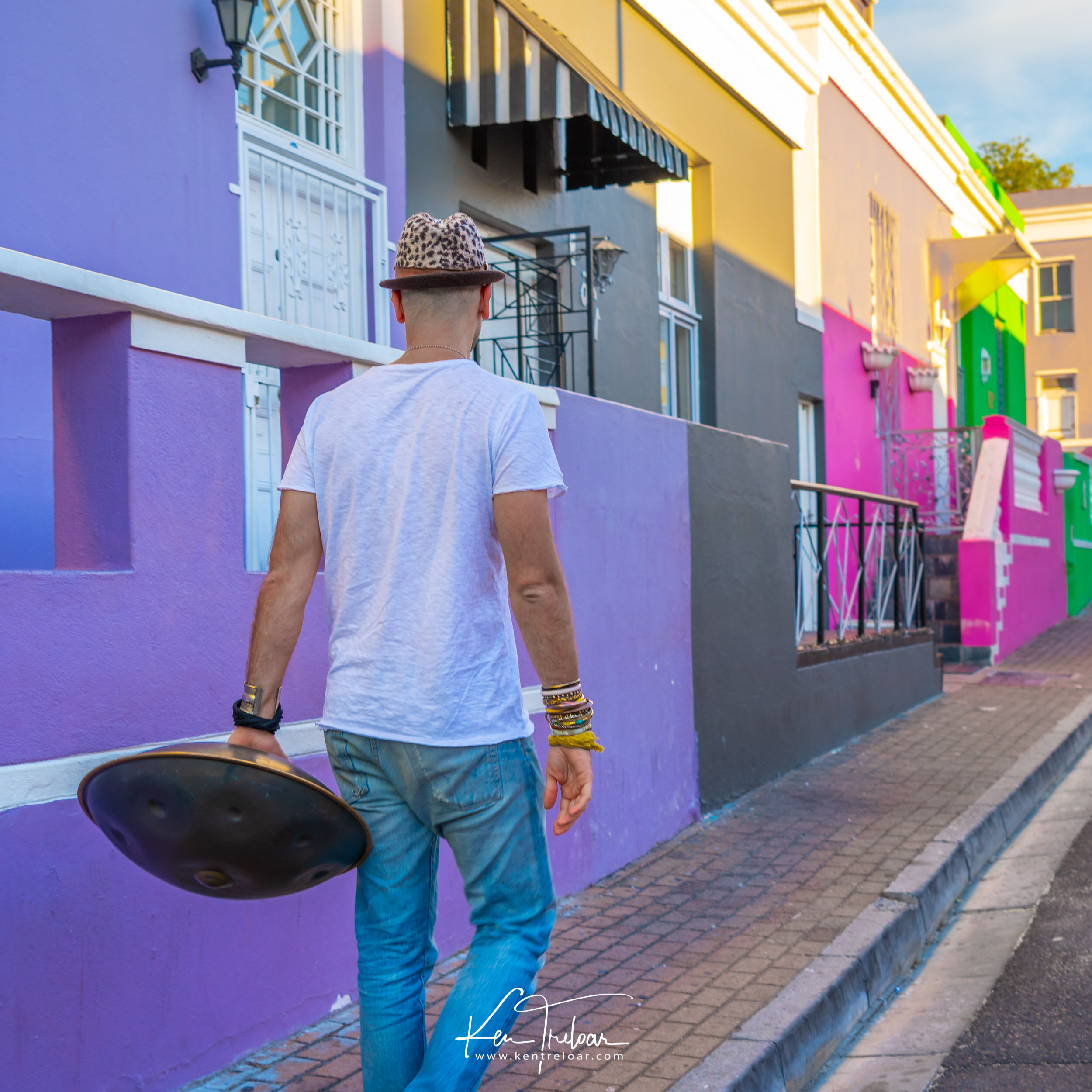Marco Selvaggio Hang Musical Instrument - Bo-Kaap, Cape Town South Africa - Image by Ken Treloar Photography 2019-3.jpg