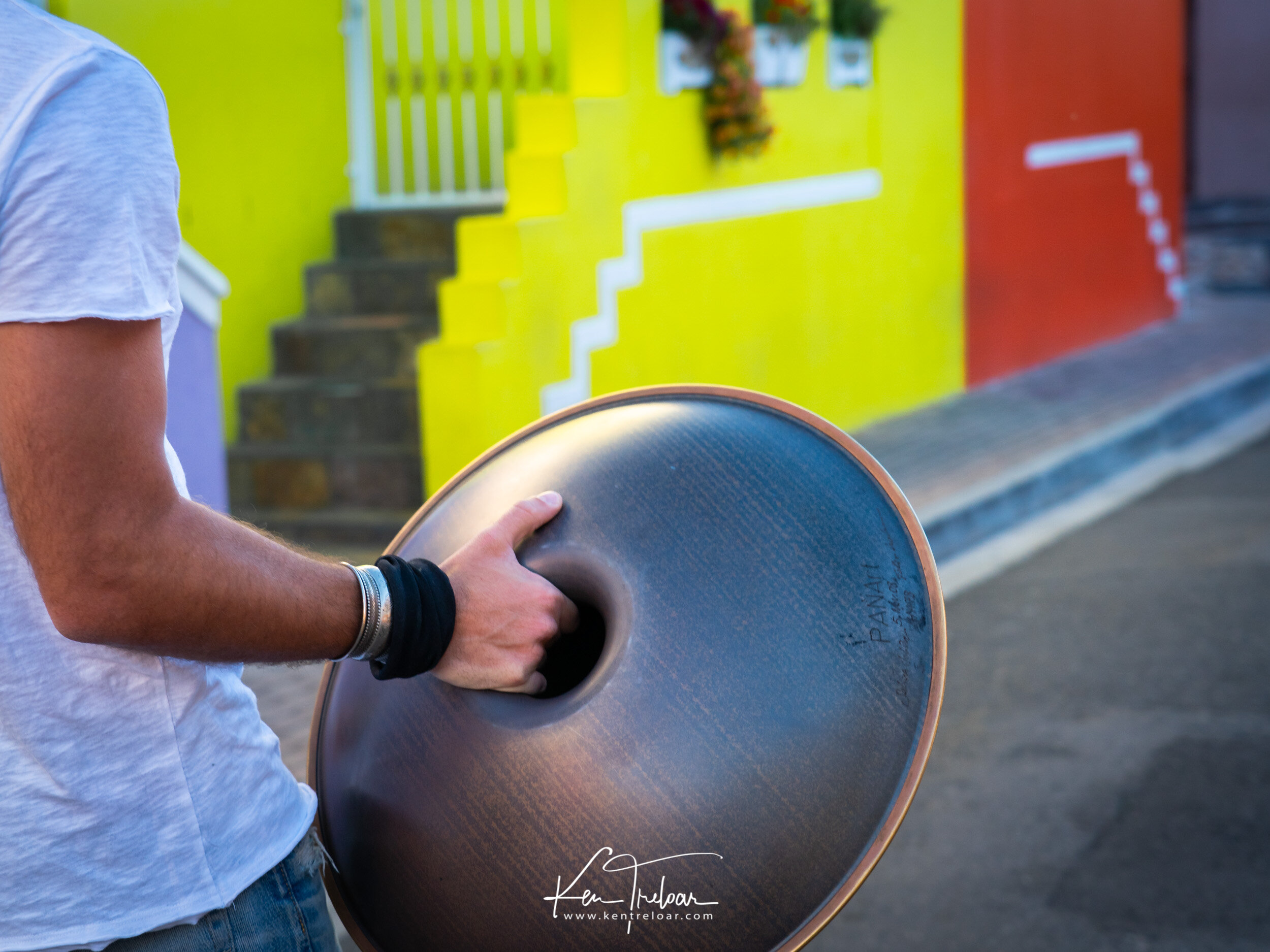 Marco Selvaggio Hang Musical Instrument - Bo-Kaap, Cape Town South Africa - Image by Ken Treloar Photography 2019-8.jpg