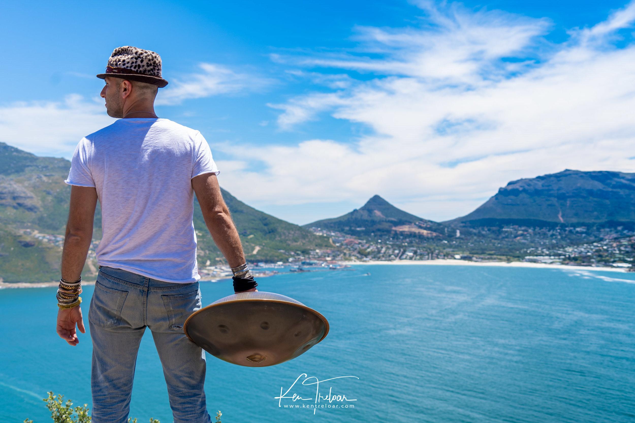 Marci Selvaggio - Hang Instrument Cape Town Tour - South Afica - Chapmans Peak Drive - Image by Ken Treloar-3.jpg
