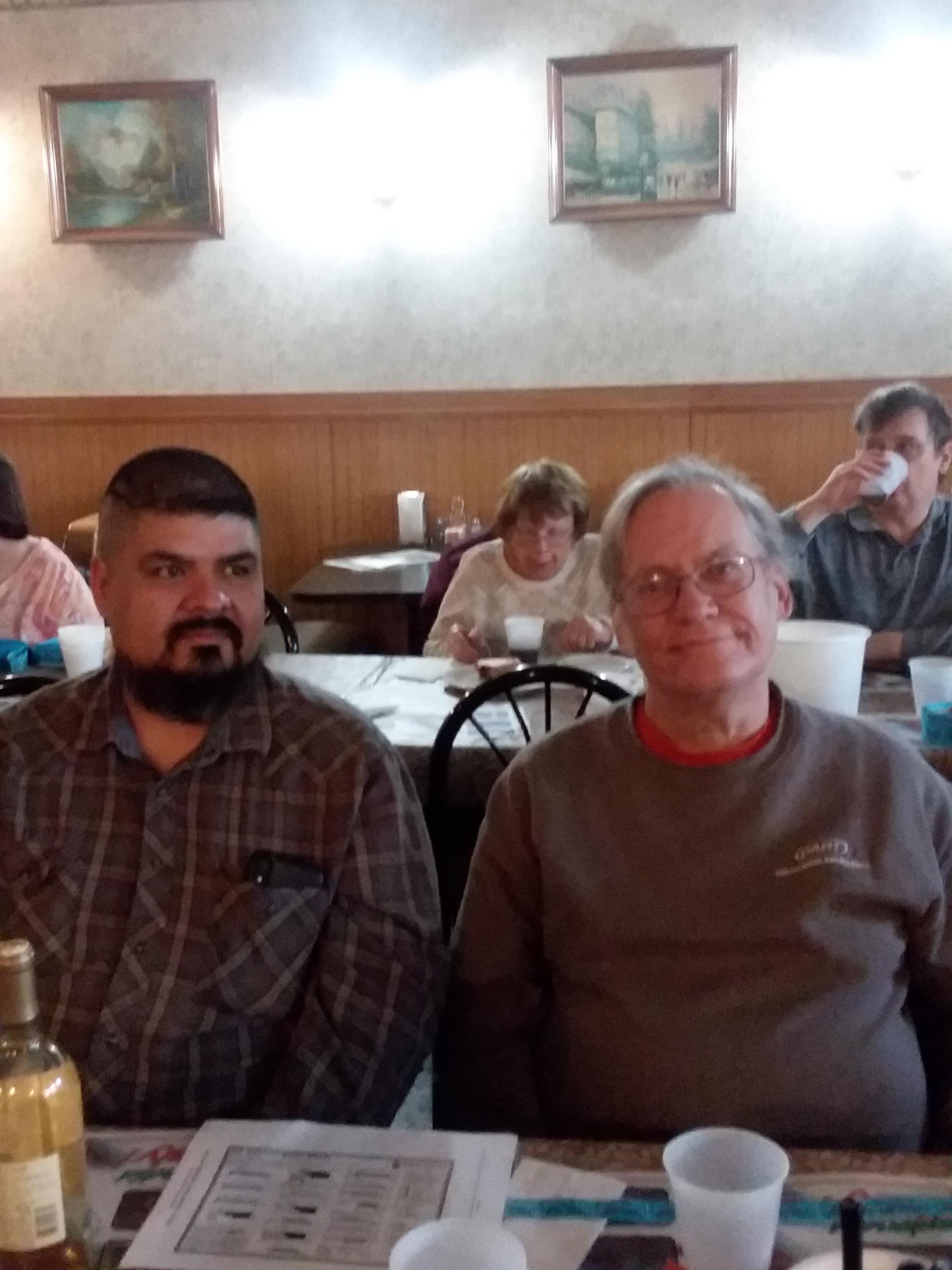 Orlando (KD9EVC) with Antenna Bob (KA9GQE)