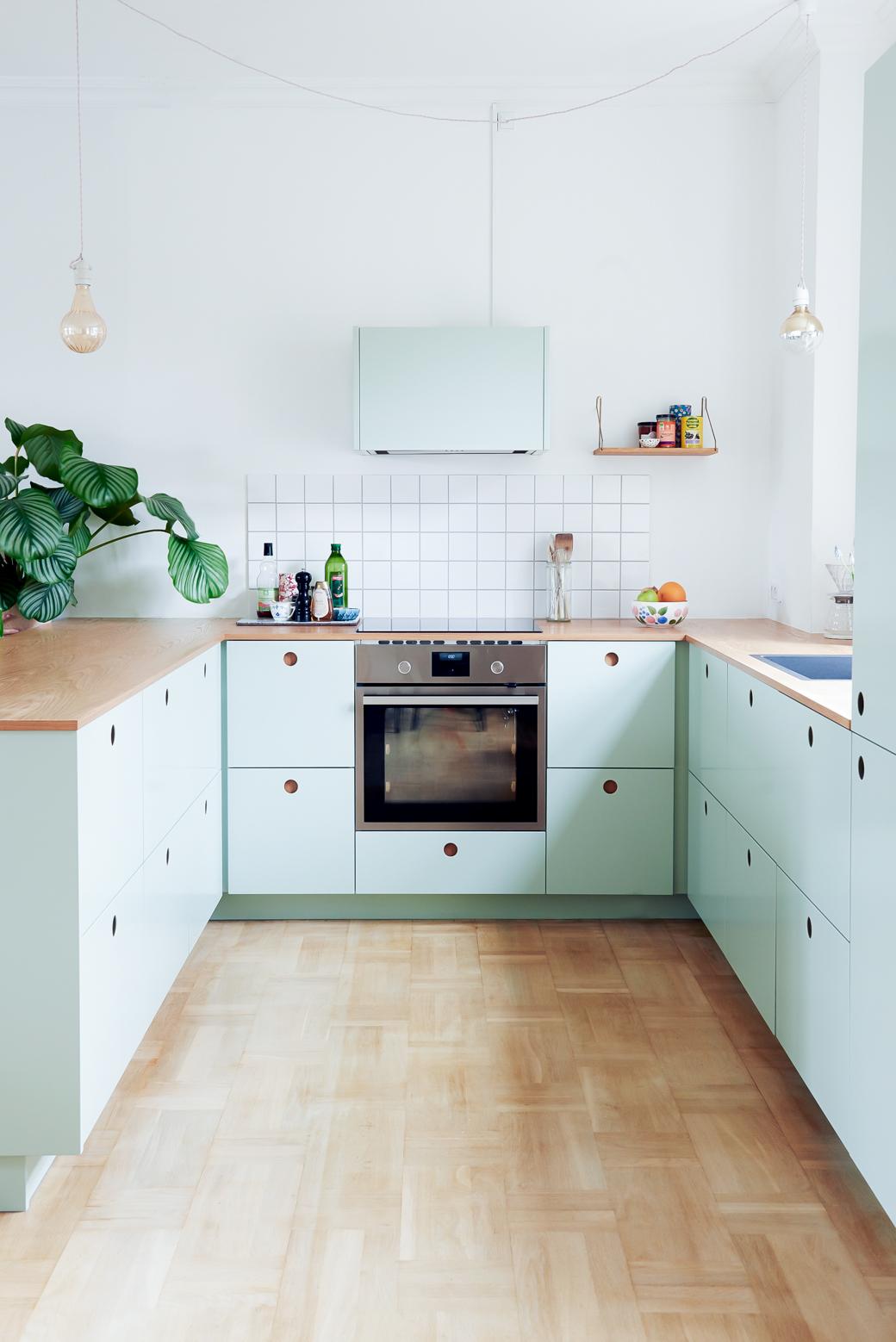 IKEA Kitchen Hack In Mint Green — decor12