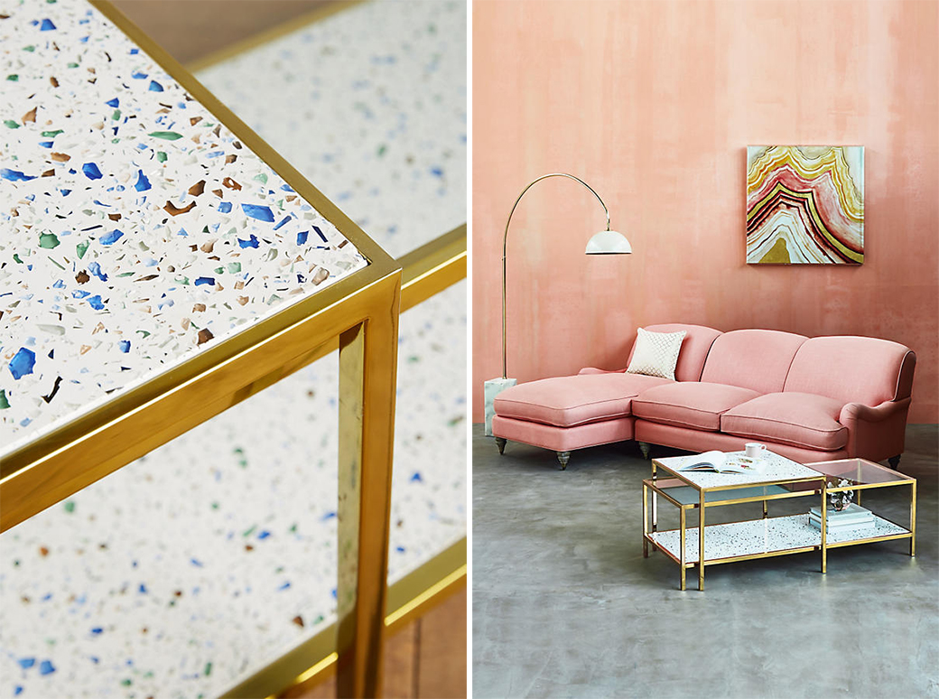 14 Ways To Decorate With Terrazzo Decor8