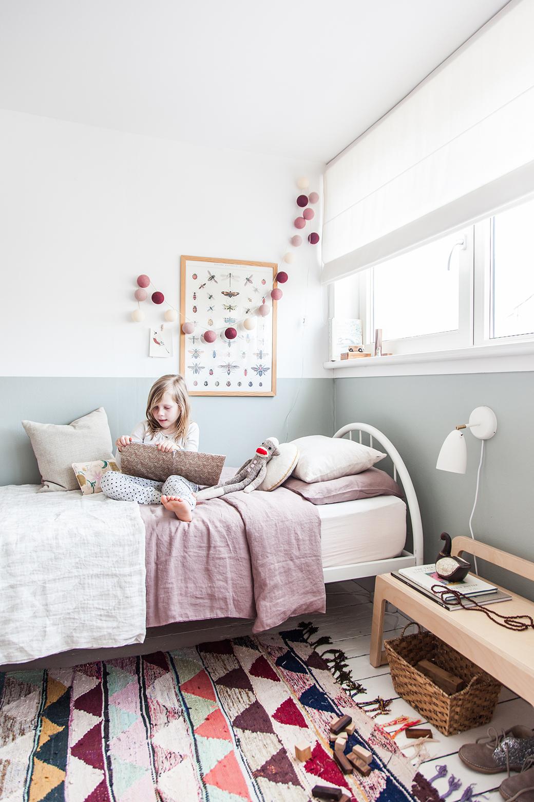 Ikea Wardrobe Hack In Charming Little Girl S Bedroom Decor8