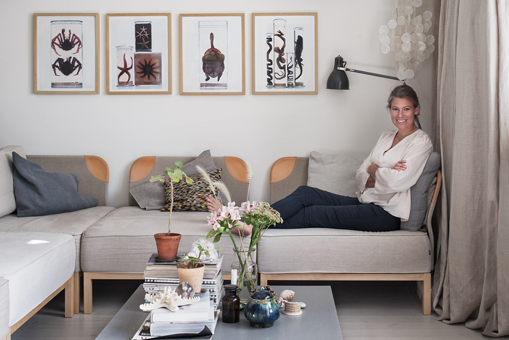 Designer and Creative Director at Ire, Emma Obers