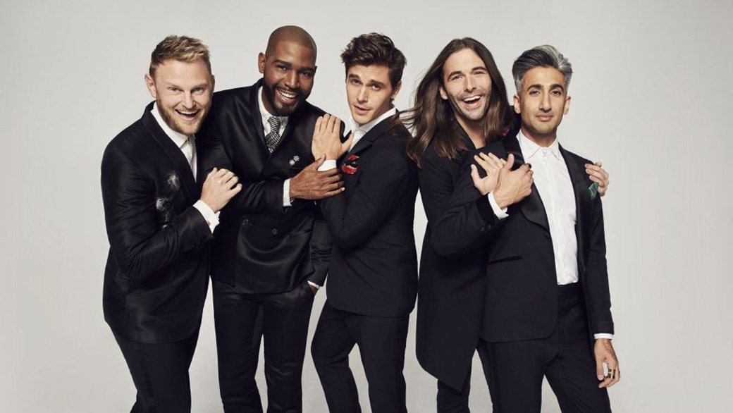 QUEER EYE cast on Netflix