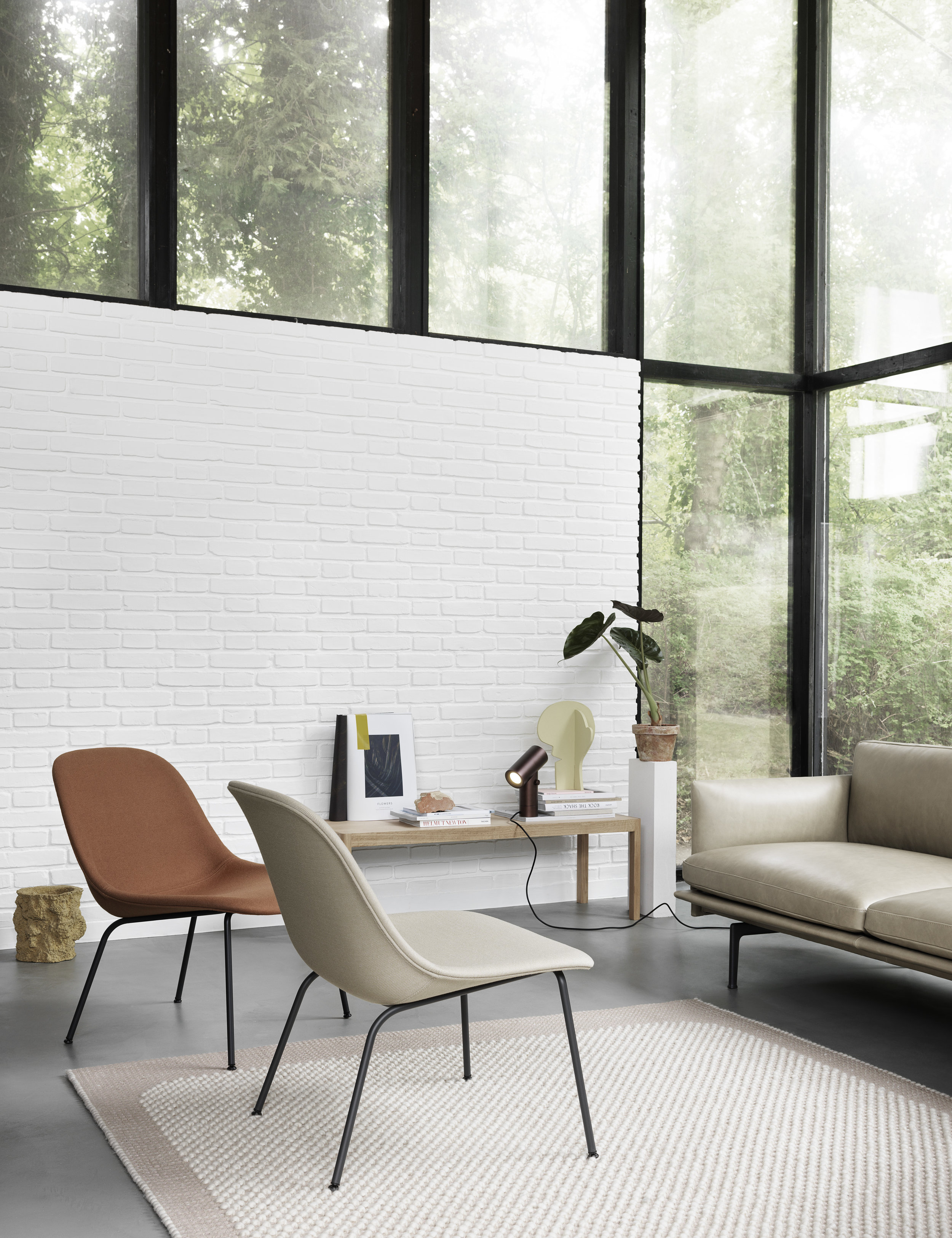 New furniture and rug from Muuto