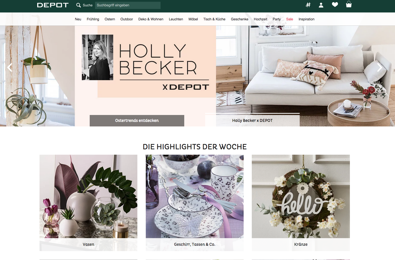 Holly Becker collection at DEPOT