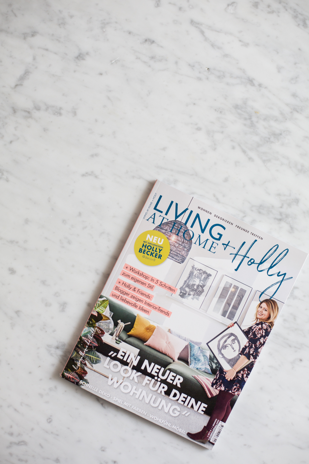 Living at Home + HOLLY magazine is here