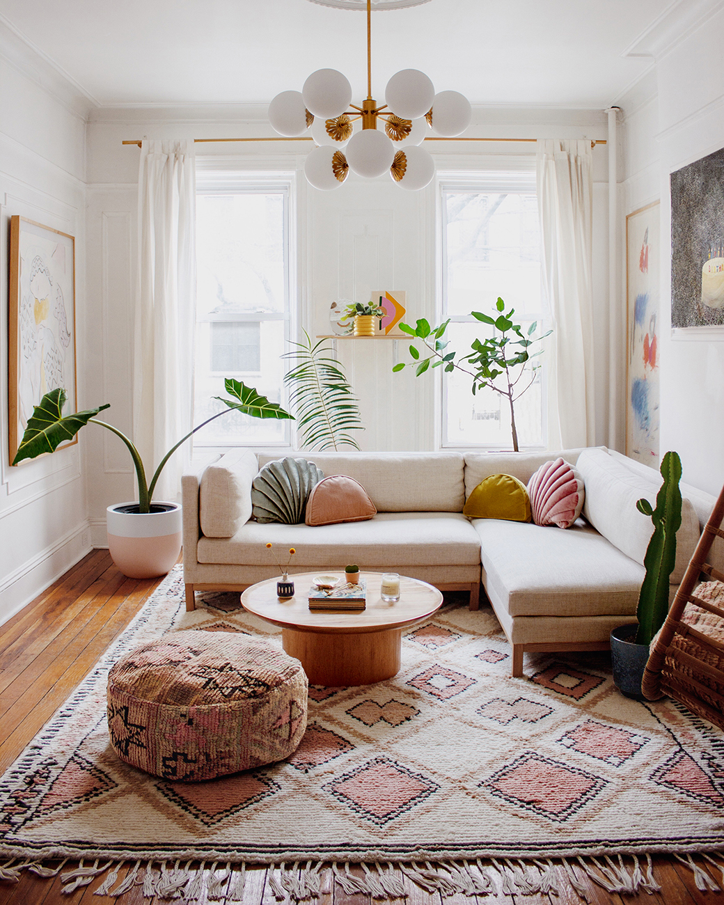 Colorful Bohemian Modern Brooklyn Apartment + How To Get The ...