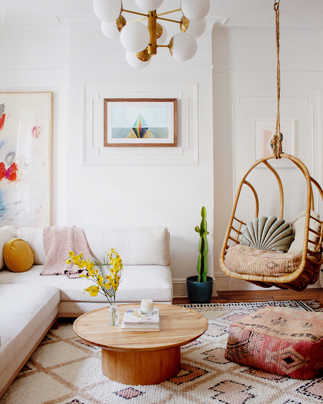 Bohemian style in decoration