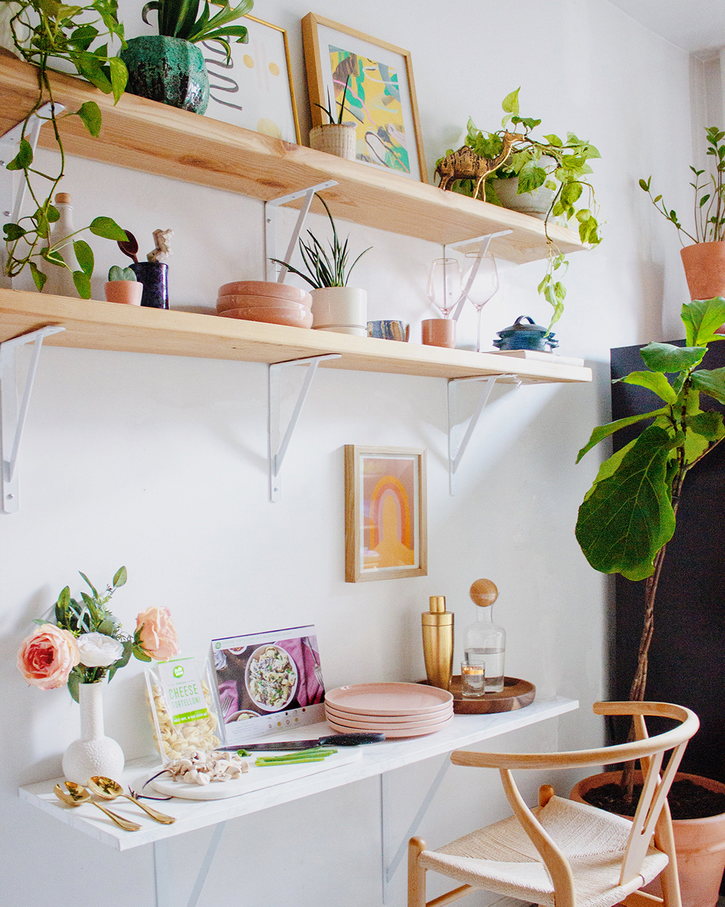 How to make a small desk