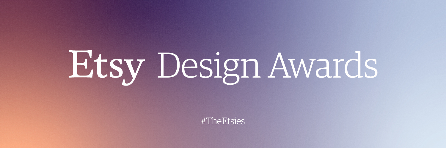 The Etsy Design Awards