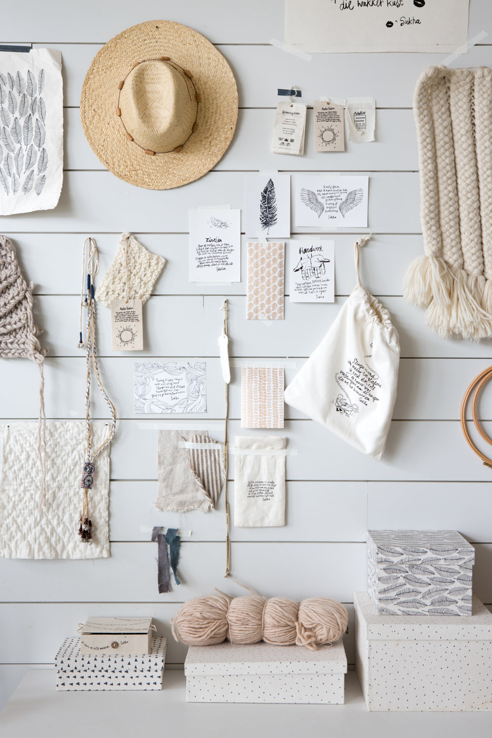 Natural, Organic and Simple: The Home + Shop of Sukha in Amsterdam