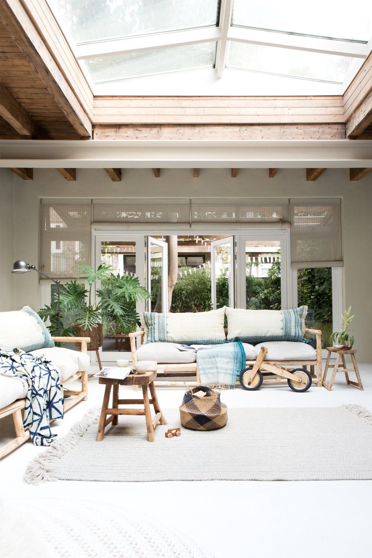 Irene's Home in Amsterdam - Living Room