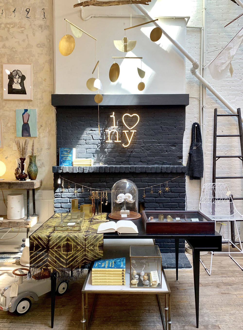 Visit New York City's Interior Design Haven: Michele Varian Shop