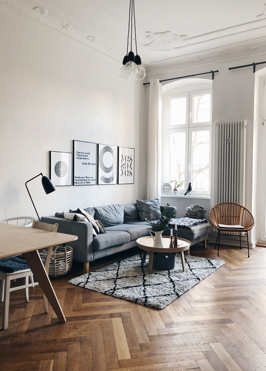 """A Charming """"Hygge"""" Apartment in Berlin"""