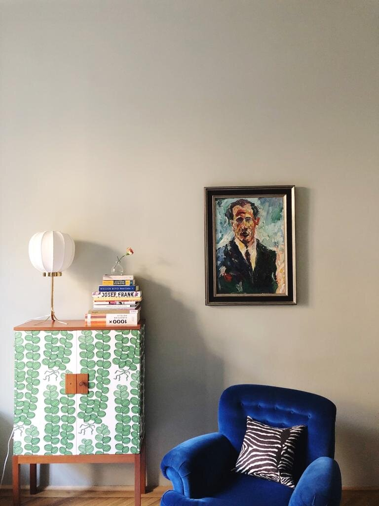 also my room -  Josef Frank  suite - this was the living room