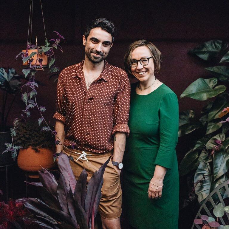 Autoři a přátelé rostlinného kmene: Igor Josifovic a Judith de Graaff