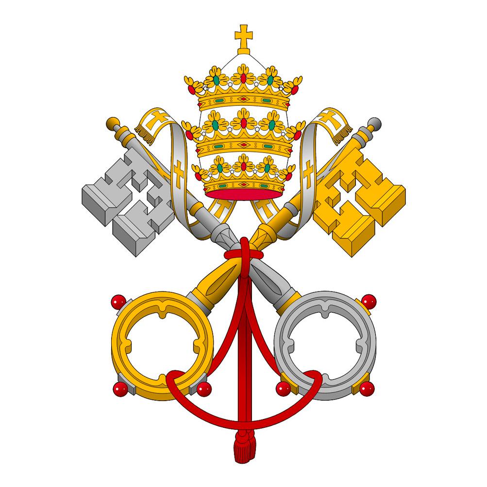 Escudo Oficial del Vaticano