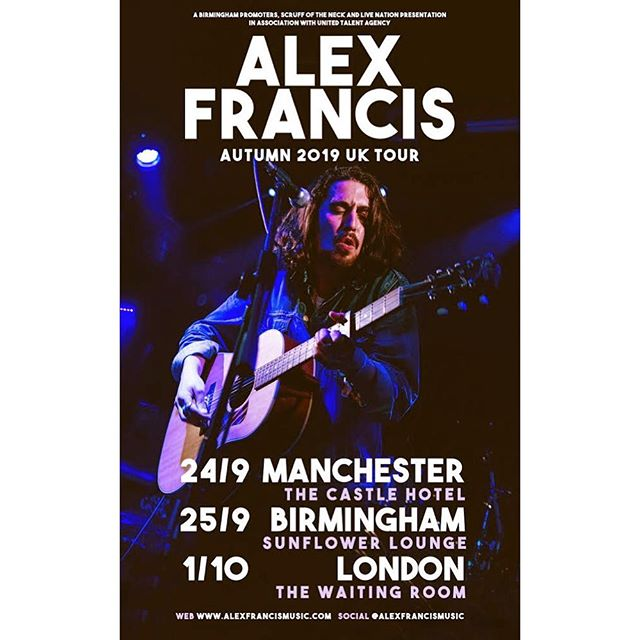 THRILLED to announce three UK shows this September / October in #Manchester #Birmingham and #London 🇬🇧 PRE SALE TICKETS GO UP TOMORROW PEOPLE 👌❤️