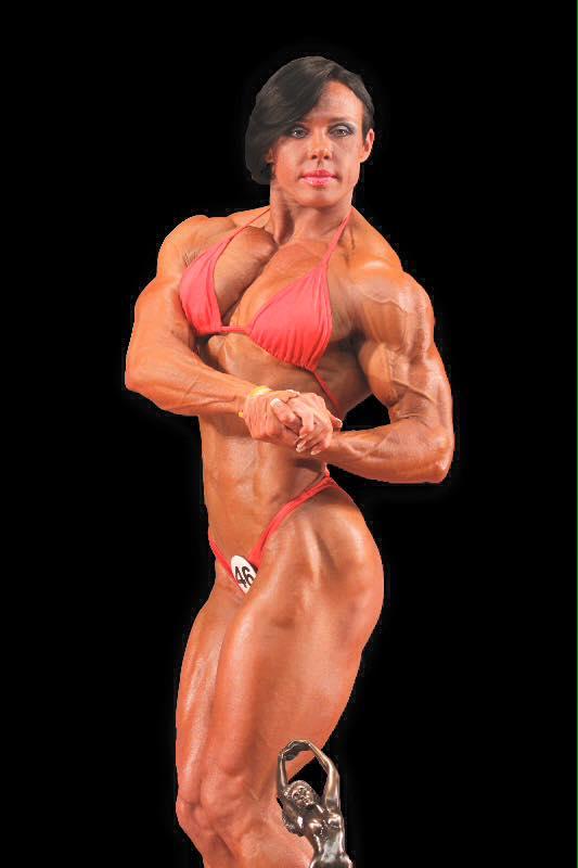 Rene Campbell Women Body Builder
