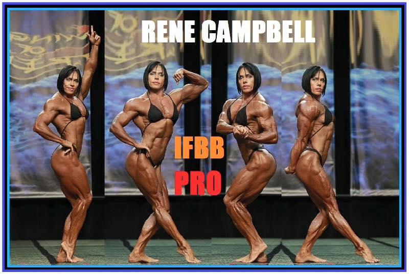 Rene Campbell IFBB Pro