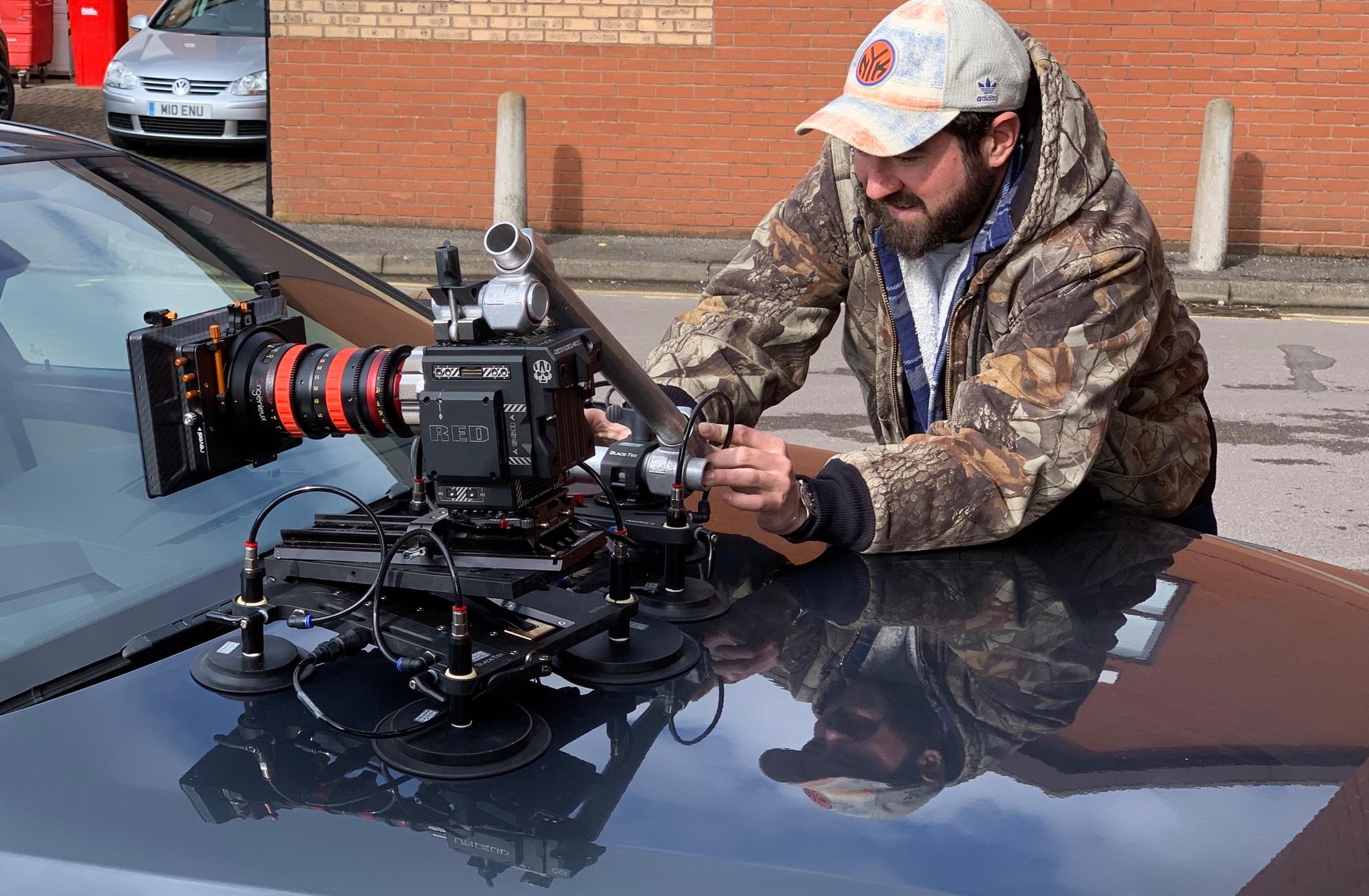 Black-Tek Camera platform - bonnet rig