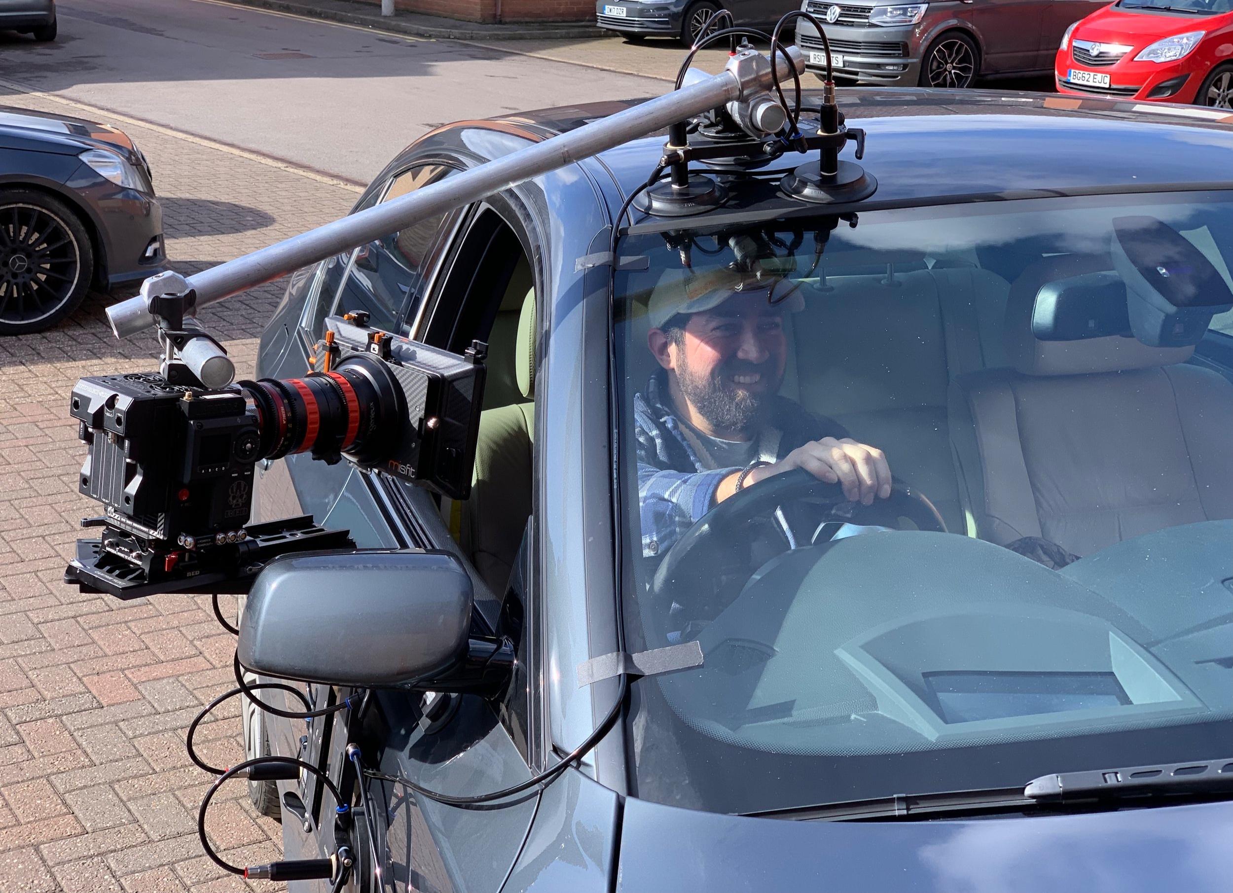 Black-Tek Camera platform - door mount