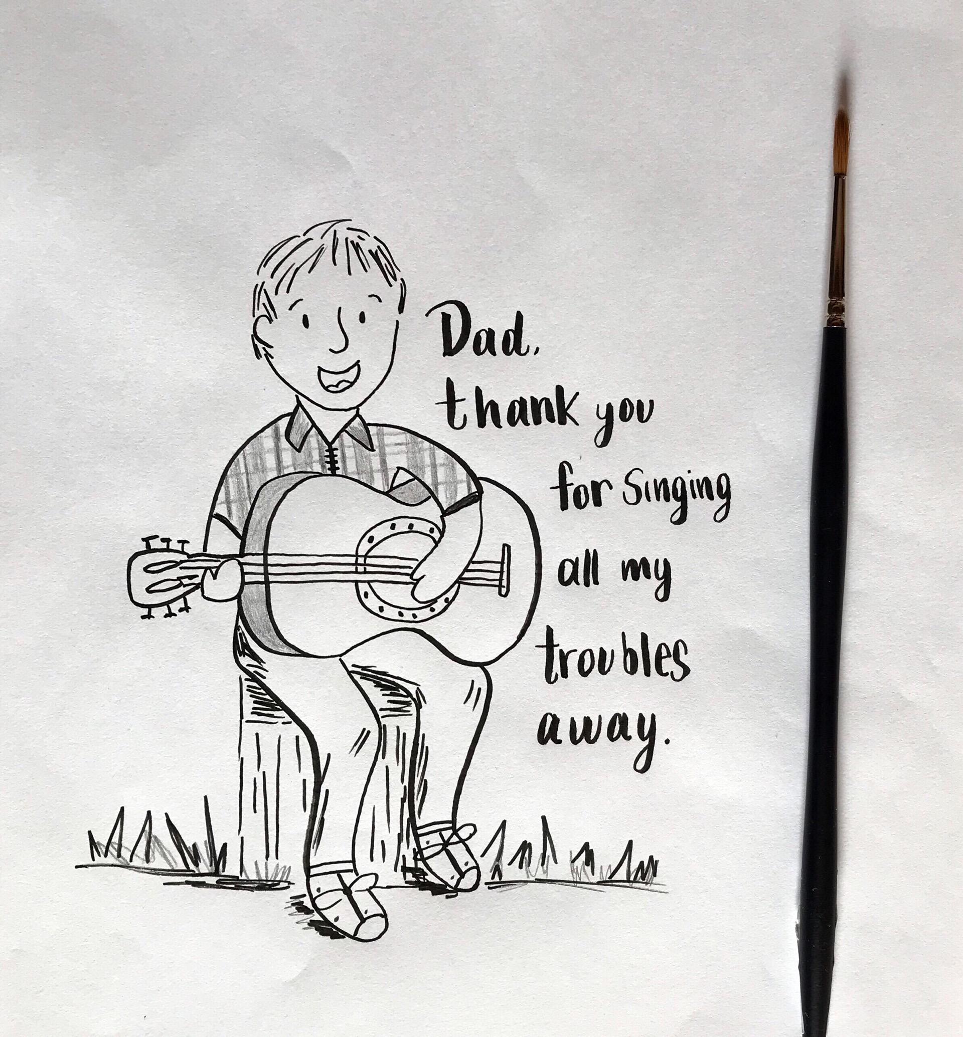 Moncharis singing dad greeting card.jpg