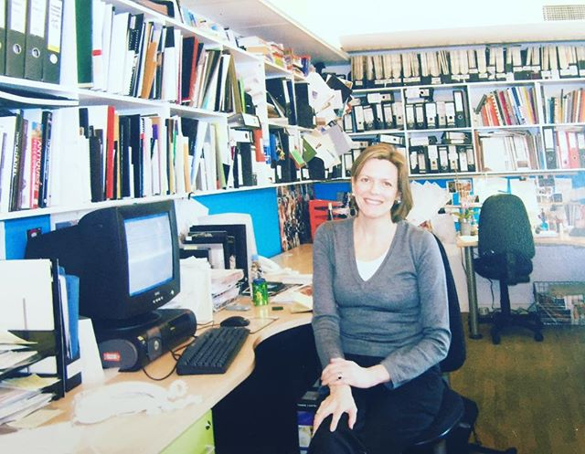 Monday morning the #Vogue office 15 years ago  #promisewevetidieditup pre makeover @britishvogue