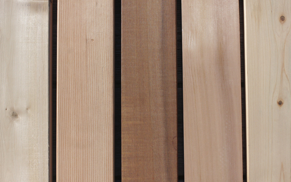 wood decking various types