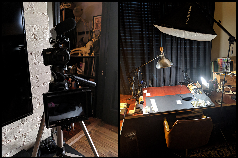 ….some of the new equipment and set-up