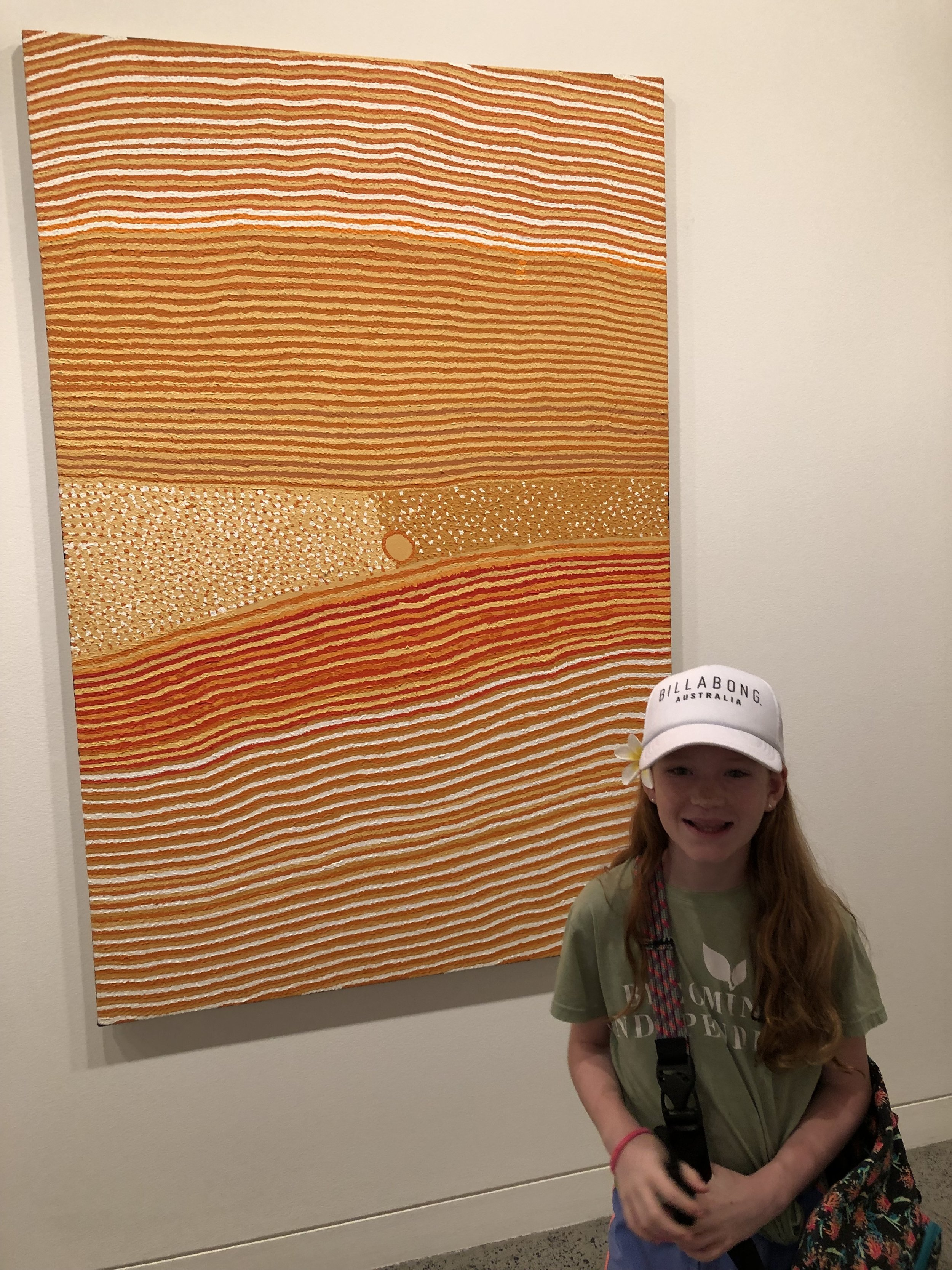 Learning about Aboriginal art