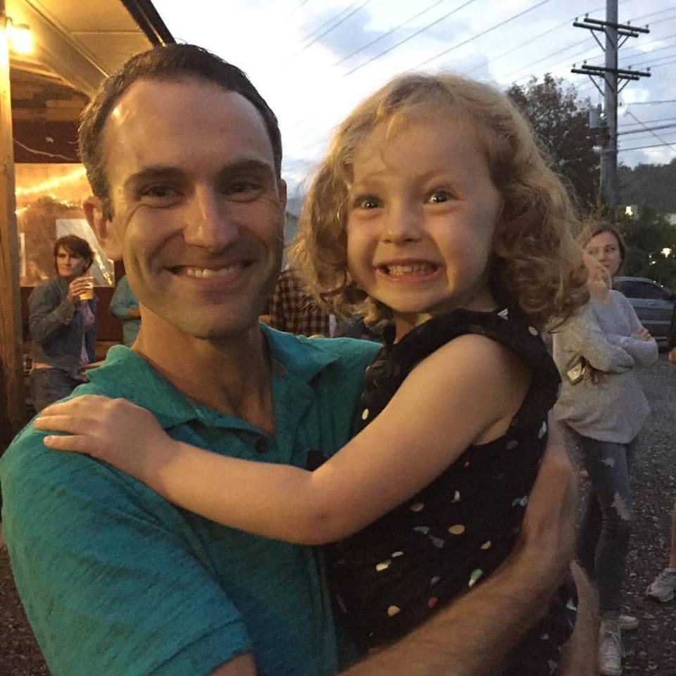 Caleb and his daughter Adalyn.