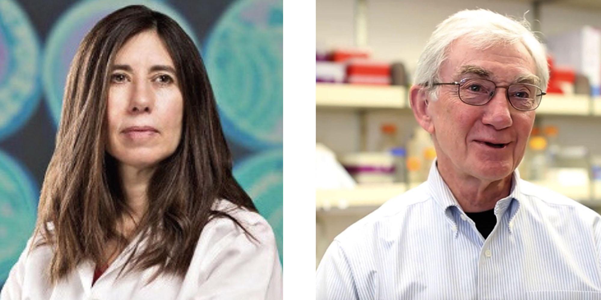GWG 2018 Keynote speakers: Dr. Ellen Jorgensen, Founder, Biotech Without Borders and Genspace, NYC and Dr. Dana Carroll, University of Utah School of Medicine