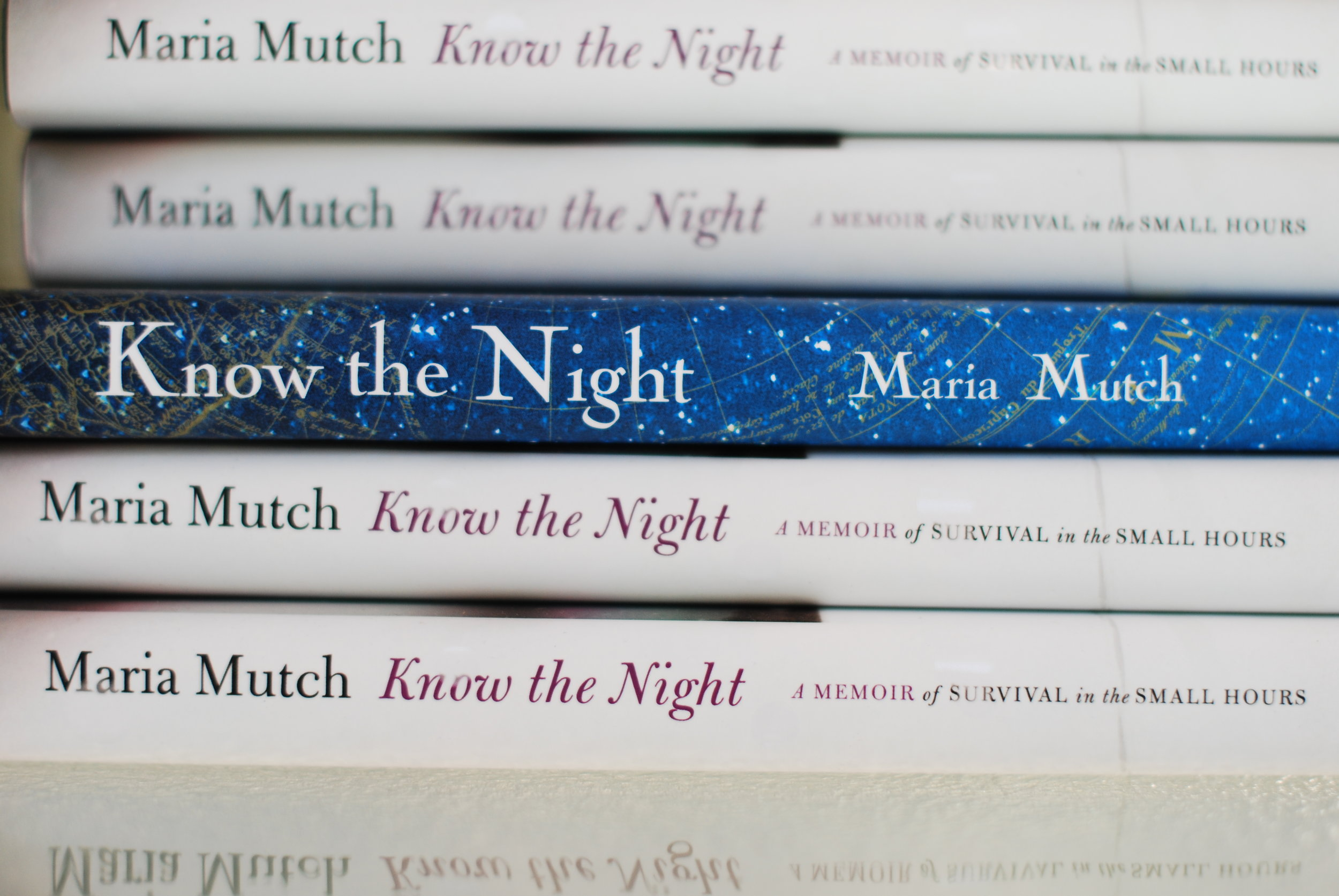 Know the Night by Maria Mutch hardcover