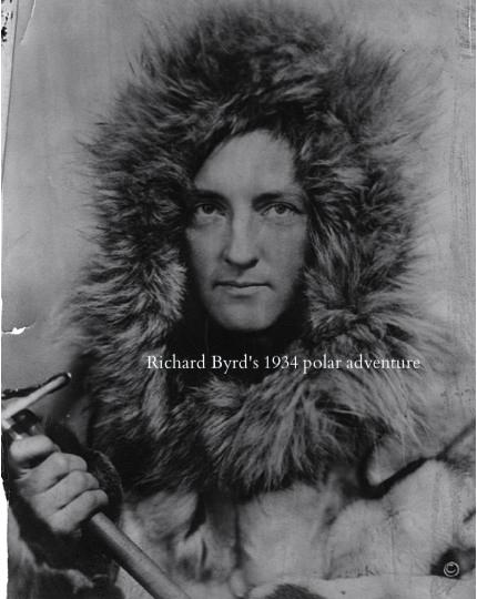 Admiral Richard Byrd in Know the Night by Maria Mutch