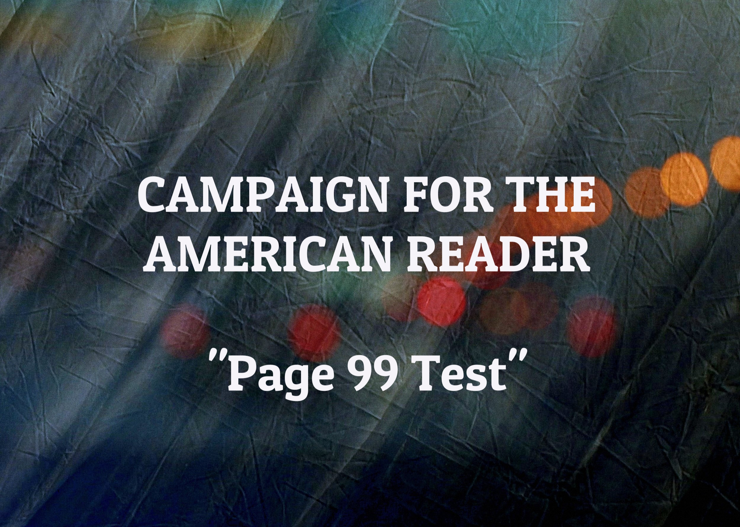 campaign for the american reader maria mutch