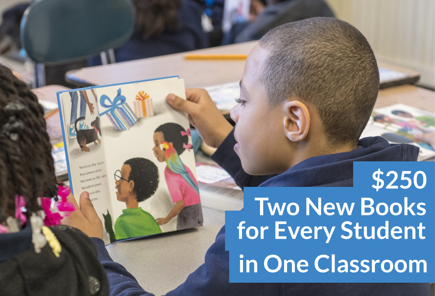 Two New Books for Every Student in One Classroom